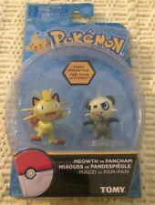 NEW SEALED TOMY Pokemon Meowth vs Pancham Set 2 Figures Rare
