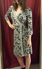 BCBG MAX AZIRA WRAP DRESS ADELE SIZE S