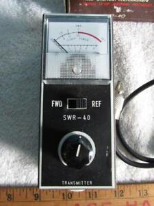 SWR / Field Strength Meter Model SWR-40