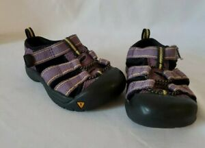 Keen Size 6 Toddler Baby Girls Kids Purple Black Newport Sandals Shoes
