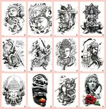 ef907af37 US SELLER, 10 sheets tribal tattoo Buddha Guang Gong 8.25