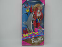1994 MATTEL BAYWATCH LIFEGUARD BARBIE W/DOLPHIN FRIEND DOLL 13199 IN BOX