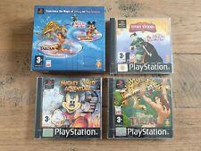 Disney Triple Pack Mickey / Mulan / Tarzan Sealed NEUF OVP Complete CIB PAL PS1