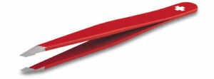 Victorinox Rubis Tweezers Red New/Boxed Top Quality Stainless Steel Oblique