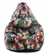 Avengers Characters Digital Printed XL Bean Bag Without Beans (Multicolor) FS