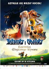 Louis Clichy - Asterix The Secret of the Magic Potion - Polish promo FLYER
