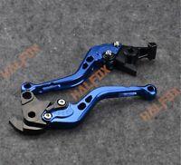 Gray Brake Clutch Levers for Yamaha YZF R1//M R3 R6 600R 750R 1000R R15 R125 R25