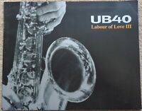 UB40 - Labour Of Love III 1999 tour programme