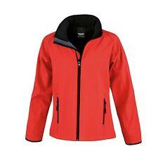 Womens Ladies Softshell Leisure Workwear Coat Jacket Fleece Lined Outdoor 8-18