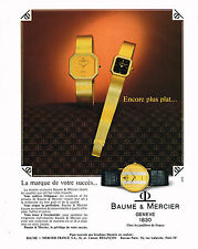PUBLICITE  1967   PATEL PHILIPPE montre
