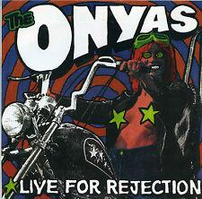 """ONYAS Live 4 Rejection 7"""" punk aussie estrus scientists saints psychosurgeons LP"""