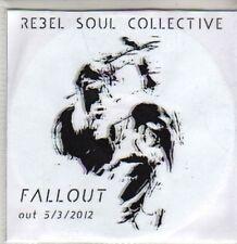 (CQ947) Rebel Soul Collective, Fallout - 2012 DJ CD