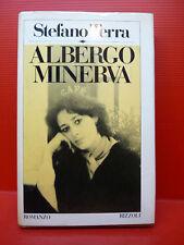 TERRA STEFANO : ALBERGO MINERVA - 1ªEd. 1982 RIZZOLI