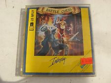 """USED ATARI ST INTERPLAY/ELECTRONIC ARTS'BATTLE CHESS' WITH MANUAL + 3 1/2"""" DISKS"""