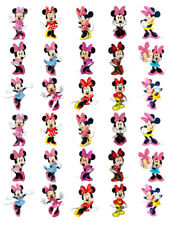 MINNIE MOUSE 30 BIRTHDAY EDIBLE STAND UP CAKE TOPPERS PREMIUM WAFER CARD
