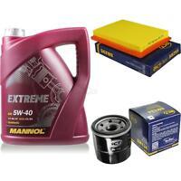 Ölwechsel Set 5L MANNOL Extreme 5W-40 Motoröl + SCT Germany Filter KIT 10129497