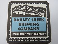 Beer COASTER ~ BARLEY CREEK Brewing ~ Poconos, PENNSYLVANIA ~ Explore the Range!