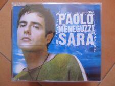 """CD singolo Paolo Meneguzzi """"SARA"""" usato ma in ottime condizioni"""
