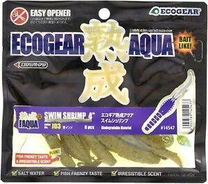 ECOGEAR JUKUSEI AQUA Swim Shrimp 4 inch Fusion of lure and bait Chooes Color