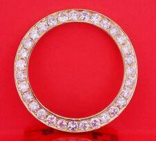 5.00 Carat White Diamond YG Bezel fits Rolex Datejust & Daydate Watch 36mm ASAAR