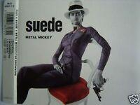 SUEDE METAL MICKEY EU MAXI CD BRETT ANDERSON
