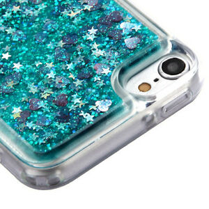 iPod Touch 5th & 6th & 7th Gen - TPU RUBBER Flowing Liquid Waterfall Case Cover