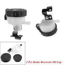 Universal Motorcycle Front Brake Fluid Bottle Master Cylinder Oil Reservoir Cup