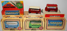BUSES :  SET OF 6 DIE CAST TRANSPORT VEHICLES MADE BY LLEDO (DT) 169