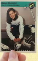 1992 - 1993 Classic Manon Rheaume Card #3 from the 100 card set