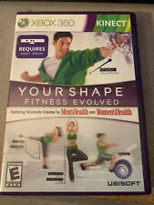 Your Shape Fitness Evolved Microsoft Xbox 360 Complete Used