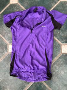 MUDDYFOX purple cycle top uk 8 vgc short sleeve muddy fox