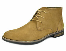 Bruno Marc Mens Oxford Shoes Suede Leather Casual Ankle Chukka Boots Size 6.5-15