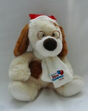 Beagle Puppy In Glasses Spectacles Soft Toy National Blind Children's Society