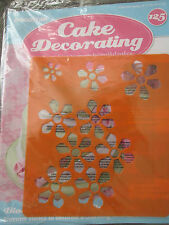 Deagostini Cake Decorating Magazine ISSUE 125 WITH BLOSSOM STENCIL