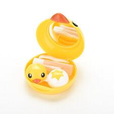 Kit Holder Travel Mirror Box Eye Care Cute  Beauty Convenient Contact Lens CaseM