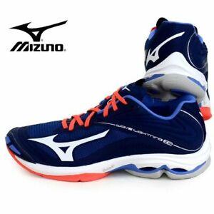 mizuno men's wave lightning z5 indoor court shoe p90x3 incinerator