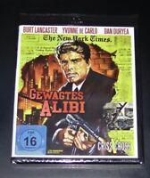 Gewagtes Alibi Con Burt Lancaster blu ray Veloce Nuovo e Confezione Originale