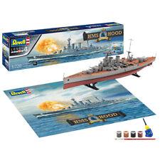 Revell HMS Hood 100th Conjunto de regalo de aniversario 1:720 envío Modelo Kit 05693
