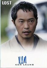 Lost Seasons 1-5 Autograph Ken Leung As Miles Straume Very Limited