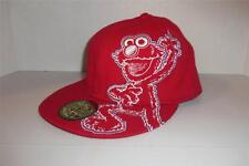 Sesame Street Red Elmo Hat A-Flex Hat Cap Free Shipping -0514T14