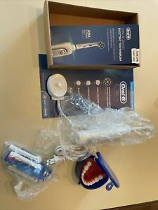 Oral-B GENIUS X Luxe 3765 Rechargeable Toothbrush Bluetooth Complete Set