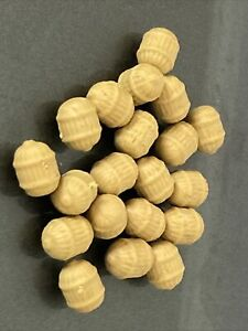 NGT IMITATION  TIGER NUTS - 20 LARGE PIECES - FAKE / ARTIFICIAL BAIT