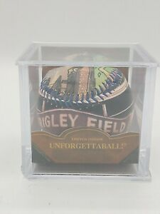 """Collector's Item 2004 """"Unforgettaball"""" Wrigley Field Baseball with COA"""