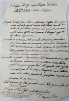1813 126) NAPOLEONICA COMASCO: LETTERA DA FENEGRO' SU REQUISIZIONE FRUMENTO