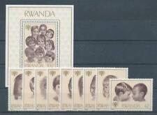 179117) Ruanda Nr.992-1000+Bl.86** Jahr des Kindes