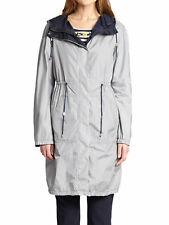 WEEKEND MAX MARA Women's Ciurma Ultramarine Reversible Raincoat Sz 2 $595 NWT