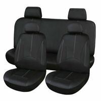 Sitzbezüge Schwarz Komplettset Universal Auto Sitzbezug Schonbezüge Set DHL