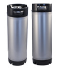 (2) Two Corny Kegs - 5 Gallon Ball Lock - w/ PRV - Cornelius Homebrew Beer NEW