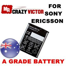 New Battery BST-43 For Sony Ericsson  MIX WALKMAN Yari J10 J20 U1 U100 T715 TXT