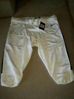 New Nike football pants tights size 3XL white/black 845930-106 - MSRP $75. FB1/2